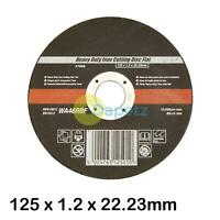 Heavy Duty Inox Sliting Disc Flat 125 X 1.2 X 22.23mm Professional Work Tool