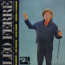 LEO FERRE - Paname (1962 VINYL EP 7' FRANCE)