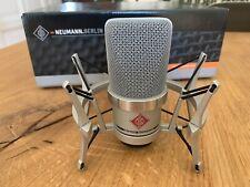 Neumann TLM 102 nichel Studio Set Condensatore Microfono-come nuovo