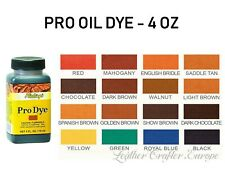 Fiebings pro oil dye 4oz (118ml) - all colors
