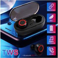 Bluetooth 5.0 Wireless Earbud Earphone In-Ear Stereo Sweatproof Headphone TWS