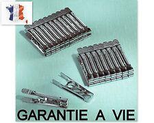 20 PINCES A LINGES EN INOX GARANTIE A VIE Fabrication Française
