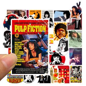 Pulp Fiction Aufkleber Sticker bomb 50 Stk.Set Sexy / Frauen / Hot/Motorrad Bike