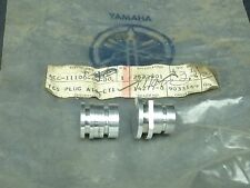 NOS New Yamaha AT1 CT1 Speedometer & Tachometer Racing Accessory Plugs Set