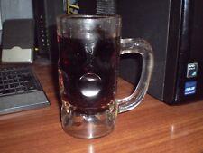 Ancienne chope de bière datant de 1900 voire avant en verre à paroi épaisse