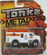NEW TONKA METAL DIECAST DIE CAST BODIES MEDICAL RESCUE FIRST RESPONSE TOY 56405