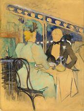 Toulouse-Lautrec: Fashionable People at Les Ambassadeurs - Fine Art Print