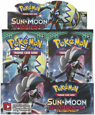 Pokemon Sun and Moon Guardians Rising HALF Booster Box 18 Packs - PRIORITY MAIL