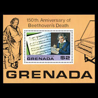 Grenada 1978 - Anniversary of the Death of Beethoven, 1770-1827 - Sc 872 MNH