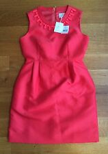 Kate Spade Embellished Mindy Dress Dive Right In Geranium Sz 6 NWT $428