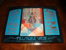 BG 245 Fleetwood Mac + Leon Russell @ FILLMORE WEST SAN FRANCISCO 1970 POSTER