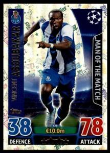 Match Attax Champions League 15/16 Aboubakar Porto Man of the Match No. 470