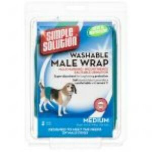 LM Simple Solution Washable Male Wrap Medium (Dogs 8-35 lbs)