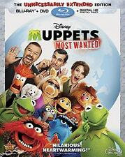 Muppets Most Wanted (Blu-ray only, NO DVD, 2014)