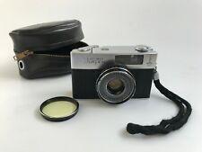 USSR Olympic 80 Soviet Half Frame Film Camera FED Mikron (ФЭД Микрон) 30mm f/1.9