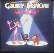 HENRY MANCINI & JAMES GALWAY IN THE PINK VINYL LP AUSTRALIA