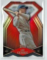 2011 Topps Lou Gehrig  DIE CUT Diamond Insert Card #DDC-152, NY Yankees Legend!