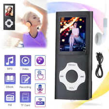32Gb Portable Mp3 Music Player Mp4 Media Fm Radio Recorder Hifi Sport Speakers