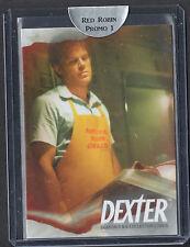 "RARE BREYGENT PROMO CARD: DEXTER SEASONS 5&6 (2014) ""RED ROBIN 1"" #056/100"