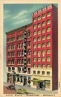 Vintage Postcard - Hotel Worth 200 Maine Street Buffalo New York NY #3677