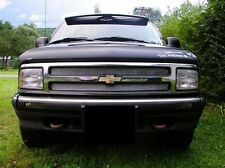 CHROME MESH GRILLE GRILL KIT For CHEVY BLAZER 94 95 96 97 1994 1995 1996 1997