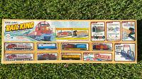 Life-Like Rail King HO Scale Electric Train w/ Bonus Accessories New In Box 8876