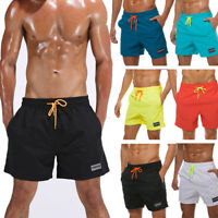 Men Swimming Board Shorts Swim Shorts Trunks Swimwear Casual Beach Underpants MH