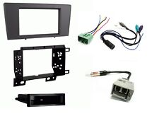Fits Volvo w AMP S60 V70 Dash Car Stereo Radio Install Kit + Wire & Antenna Plug