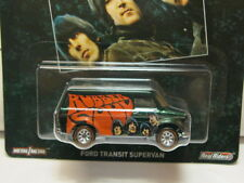 HOT WHEELS POP CULTURE-THE BEATLES ALBUM COVER FORD TRANSIT SUPER VAN NEW!