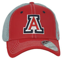 NCAA Zephyr Arizona Wildcats Two Tone Fitted Jersey Mesh XLarge Stretch Hat Cap