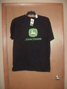 NWT MEN'S X-LARGE JOHN DEERE LOGO T-SHIRT