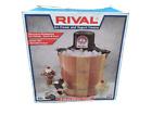 Vintage 1990s RIVAL Ice Cream  Yogurt Maker Freezer 8455 4 Quart Electric