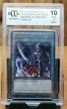 Yu-Gi-Oh! BCCG Graded Emissary of Darkness Limited LC03-EN005 Ultra Rare 💎10  *