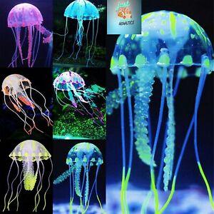 Glowing Effect Artificial Jellyfish for Aquarium Fish Tank Water Ornament