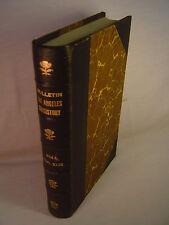 LOS ANGELES SCOTTISH RITE BULLETINs Leather-bound HC Complete 1963-1966 Masonic