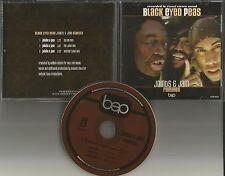BLACK EYED PEAS Joints & Jams REMIXES 3TRK PROMO DJ CD Single 1998 USA will.i.am