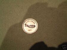 Triumph Silver Jubilee Gas Tank Centre Badge NEW