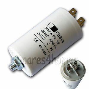 20uf 400v Motor Capacitor Tumble Dryer Washing Machine