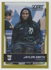 JAYLON SMITH Cowboys 2016 Score GOLD ZONE #407 SP RC #42/99 Notre Dame Rookie