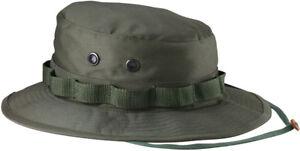 Ripstop Boonie Hat Lightweight Camo Wide Brim Military Bucket Bush Summer Sun