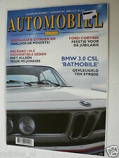 HA-1992-11,BMW 3.0 CSL,CITROEN SM,FORD CORTINA,PACKARD 120C,