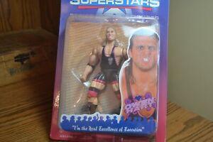 WWF SUPERSTARS SERIES II OWEN HART ACTION FIGURE 1996 JAKKS PACIFIC IN BLISTER
