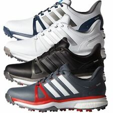 adidas Men's Leather Golf Athletic Shoes