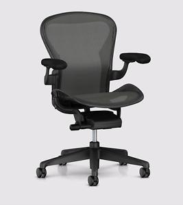 Herman miller Aeron office chair Size B. AER1B23DW  FREE WORLDWIDE SHIPPING FAST
