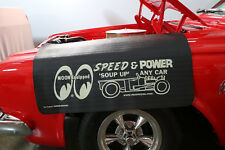 Mooneyes Moon Equipped Speed Power Fender Gripper Black Cushion Cover MP011