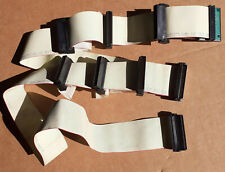SCSI 68-pin 8-way Lead / Ribbon Cable with Terminator. vintage fast wide scsi-2?