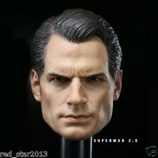 "1/6 Scale Henry Cavill Man Headsculpt For 12"" HotToys Superman 2.0 Muscular Body"