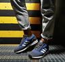 Adidas Originals Mens ZX Flux Shoes Trainers Grey/Blue/White EG5410 UK 8.5 -11.5