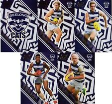 2018 AFL SELECT LEGACY GEELONG CATS  HOLOGRAPHIC FOIL PARALLEL 5  CARDS.