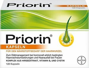 Priorin 120 Kapseln Diätmanage hormonell erblich bedingtem Haarausfall Frauen